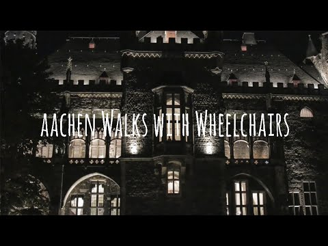 Aachen Accessible Walks with Wheelchairs
