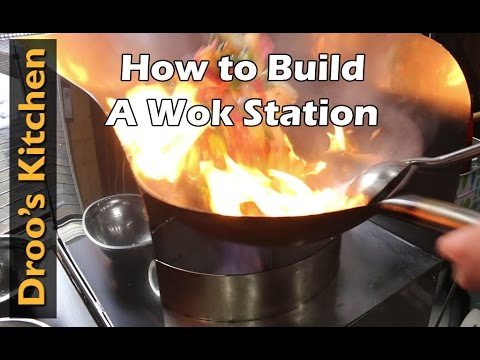 Stainless Steel Wok Station Build Video