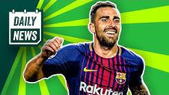 Transfer News: Paco Alcácer zurück zu Barca? Lazaro zu RB Leipzig? Podolski kommt nicht zurück!