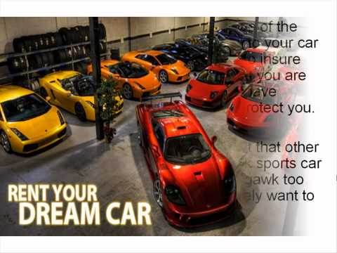 Living the Dream With a Sports Car Rental - Find Out Where To Get It!