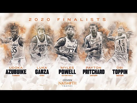 LIVE - Naismith 2020 Player of the Year Announcement  CBS Sports HQ
