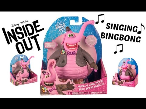 Disney Pixar Inside Out Movie Toys MUSICAL BING BONG Toy Review & Unboxing from YouTube · Duration:  6 minutes 6 seconds