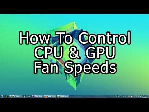 How To Control CPU & GPU Fan Speeds - YouTube