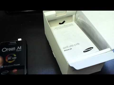 SAMSUNG S7530 OMNIA M Unboxing Video - Phone in Stock at www.welectronics.com