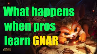 What Happens When Pros Try To Learn GNAR?