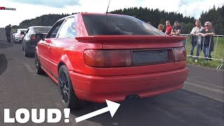 600 HP Audi Quattro S2 20V Coupe - INSANE TURBO BOOST!