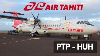 AIR TAHITI ATR 72-600   PAPEETE - HUAHINE