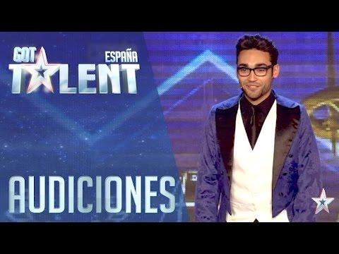 Gerard convierte a Santi en el mejor mago del mundo | Audiciones 1 | Got Talent España 2016