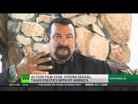Steven Seagal on U.S. Diplomacy and Plans to Run for Arizona Governor