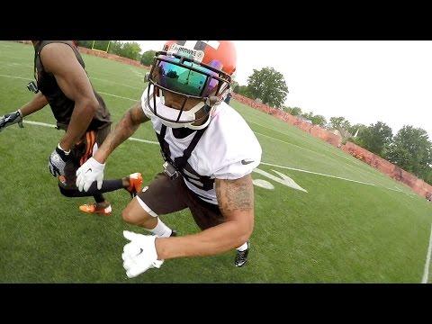 Joe Haden GoPro Footage   How to Be a Great Cornerback   NFL