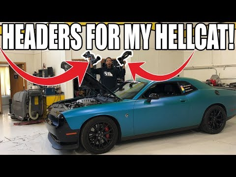 I Purchased Some Brand New Headers For My Hellcat!! You Won't Believe What I Got!!