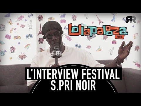 """Youtube: S.PRI NOIR – Interview lors du Lollapalooza: """"Avec Nekfeu, c'était impressionnant!"""""""