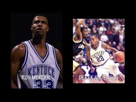 Thunder & Lighting Signing|Derek Anderson & Ron Mercer |Wildcat Apparel