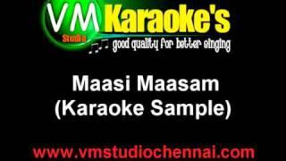 Maasi Maasam (Karaoke Sample)