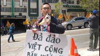Biểu tình chống dự luật Đặc Khu Kinh Tế trước Tổng Lãnh Sự CSVN tại San Francisco (P-3)