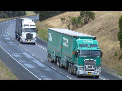 Australian Trucks : Trucking on the Hume Highway Part 8