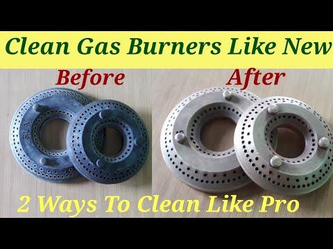 #DIY How to Clean Gas Burner at Home / #Gas Burner #Cleaning / गैस बर्नेर घर मे कैसे साफ करे