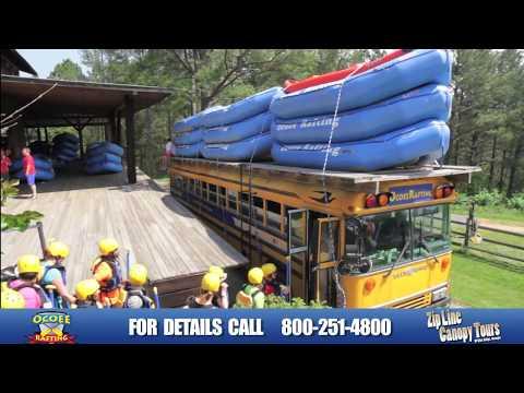 Ocoee Rafting & Zipline Canopy Tours Of Blue Ridge