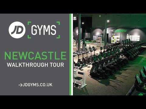 JD Gyms - Newcastle Walkthrough Tour