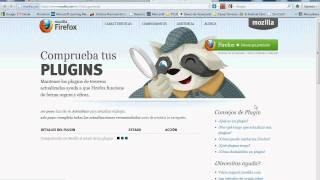 Actualizar PlugIns Mozilla FireFox