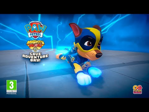 PAW Patrol Mighty Pups Save Adventure Bay | UK Announce Trailer