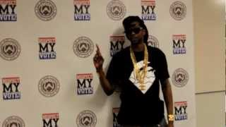 2 Chainz Speaks on Ex-Felon Voting Rights & Respect My Vote!