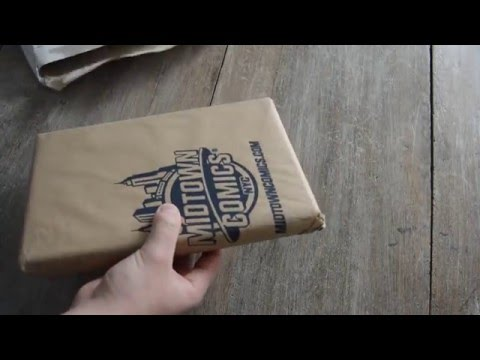 Unboxing / déballage Midtown Comics France