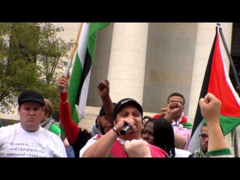 Columbus to Gaza protest 8/17/2014/5