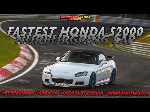 Honda S2000 Nürburgring RECORD! - 7:59.8 (Nordschleife BTG)