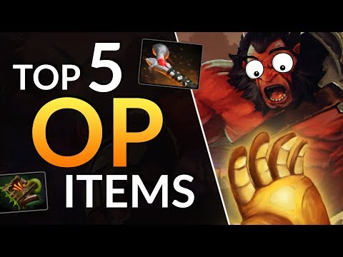 TOP 5 BEST ITEMS in Patch 7.21 - UNDERRATED Item Tips | Dota 2 Guide