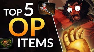 TOP 5 BEST ITEMS in Patch 7.21 - UNDERRATED Item Tips   Dota 2 Guide