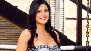 Zareen Khan Celebrate Her Birthday With Media