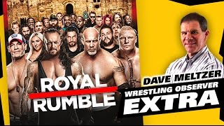 Dave Meltzer Reviews WWE Royal Rumble 2017 | The LAW