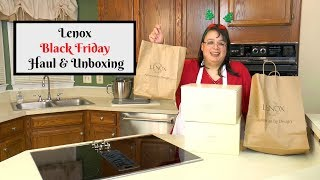 Lenox Black Friday Unboxing ~ Lenox Warehouse Outlet Sale ~ Tableware, Bone China & Serveware