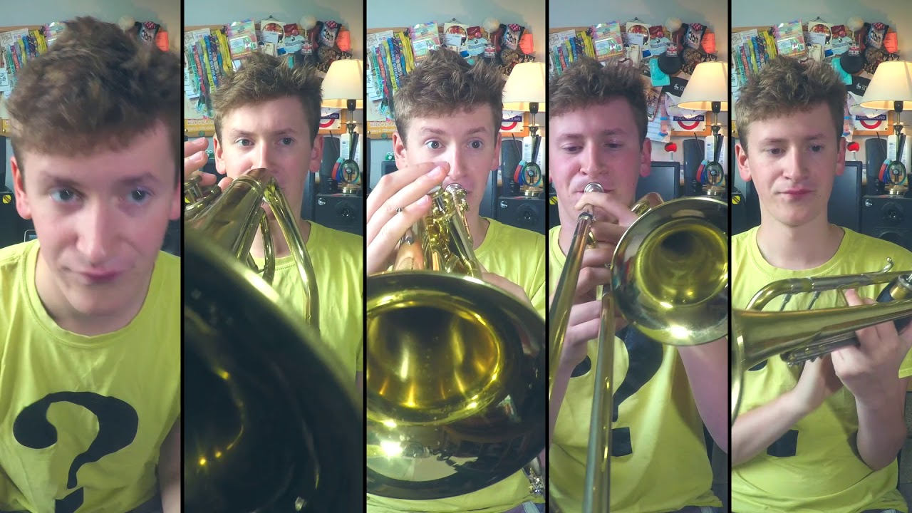 Coldplay - Yellow for Brass Quintet with sheet music