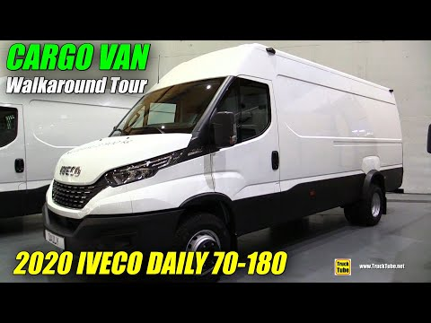 2020 Iveco Daily 70-180 Walkaround – Cargo Van Tour