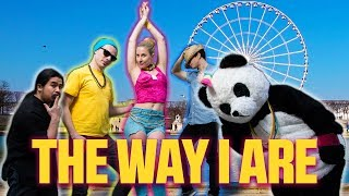 Just Dance 2018 THE WAY I ARE Bebe Rexha ★ Cosplay gameplay