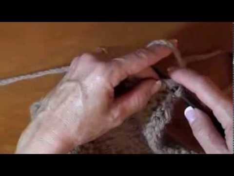 How to pick up and knit stitches along an edge - YouTube