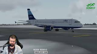 Live Real Traffic Injected into P3D V4 KJFK PSXseeconTraffic Yes IRL PIlots Live