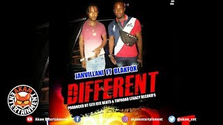 Jahvillani Ft. BlakFox - Different - October 2019