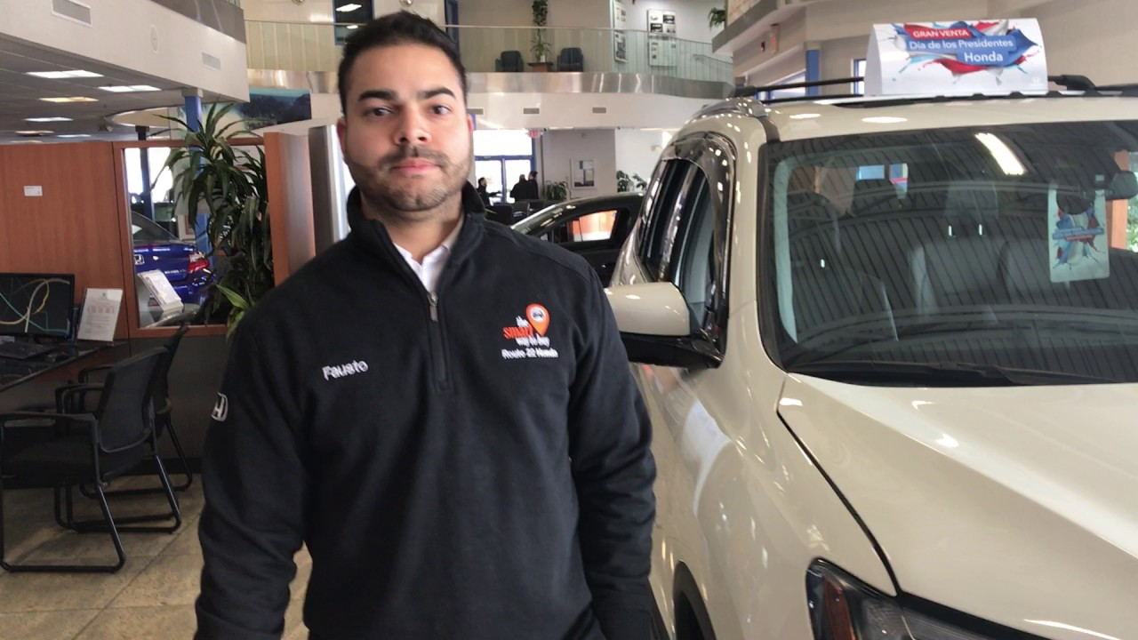 Meet fausto route 22 honda finance manager youtube for Honda financial account management