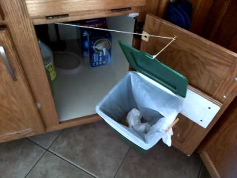 Under Sink Garbage Bin