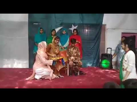 Mehndi Army : Performing teblow on mehndi song and after the army man s shaheed
