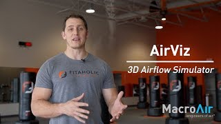 MacroAir Large Commercial Ceiling Fans: Fitaholic Fitness AirViz Testimonial