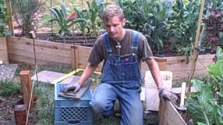 How To Build Raised Beds With Redwood 4x4 Posts And Cedar Fence Board