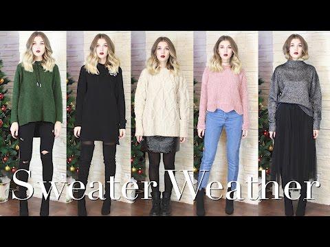 Sweater Weather | КАК НОСИТЬ СВИТЕРА