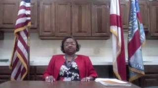 Macon Co. AL County Administrator Susan Thomas