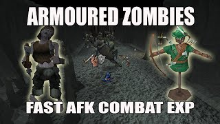 [Runescape 3] Armoured Zombies Guide 2017   AFK Fast Exp   Combat Dummies   Abyss v2