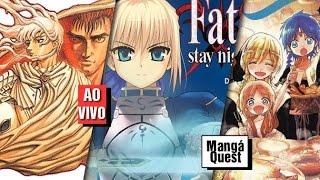 Mangá Quest - Alice Hearts 01, Magi 17, Fate Stay Night 01, Berserk 08
