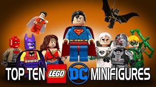 Top 10 LEGO DC Minifigures
